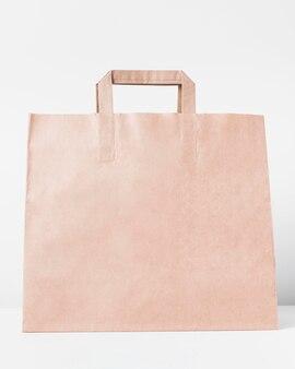 Grand sac en papier pour faire du shopping