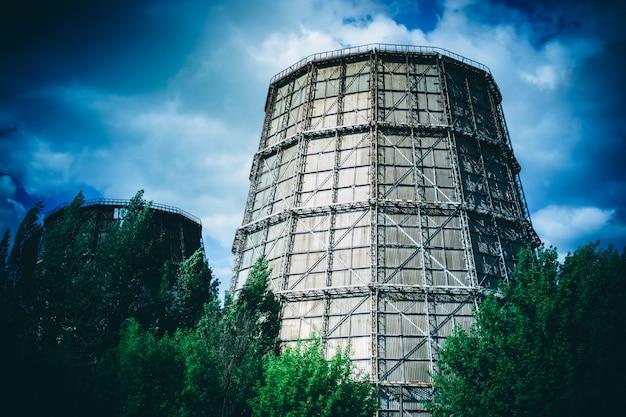 Grande centrale thermoélectrique à tubes de jour, filtre