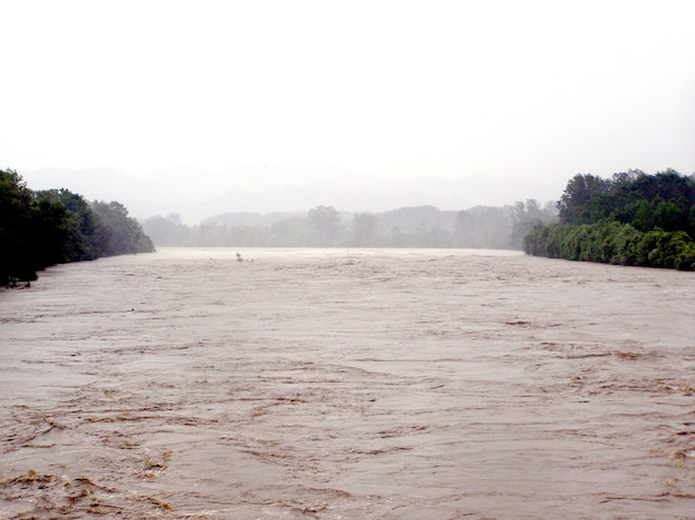 Grande crue de la rivière