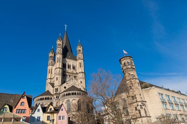 Grande église saint-martin à cologne, en allemagne