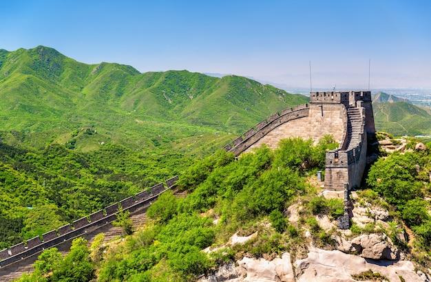 La grande muraille de chine à badaling