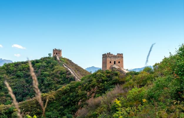 La grande muraille de chine.