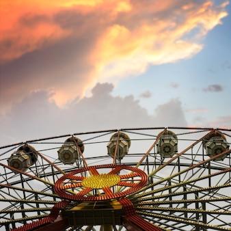 Grande roue de carnaval