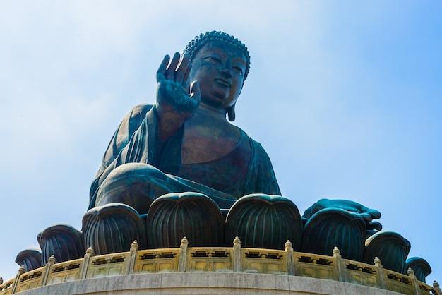 Grande statue religieuse porcelaine asiatique