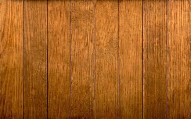 Grande surface de texture de mur de planche de bois brun
