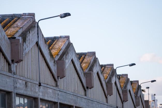 Grande usine abandonnée