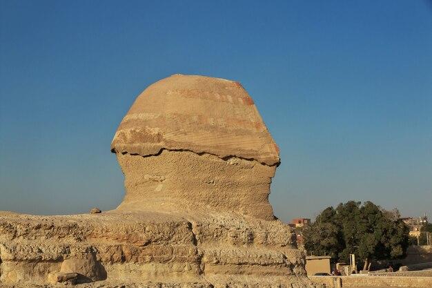 Grandes pyramides de l'égypte ancienne à gizeh le caire