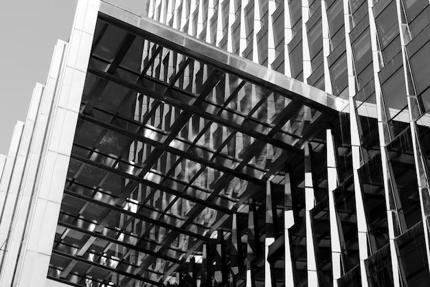 Grands immeubles modernes vus d'en bas