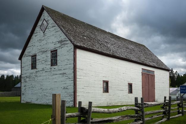Grange à la ferme, doaktown, nouveau-brunswick, canada