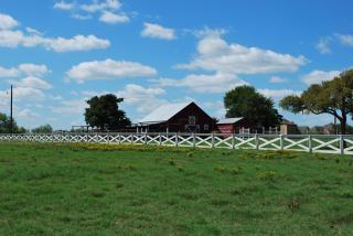 Grange rouge, texas