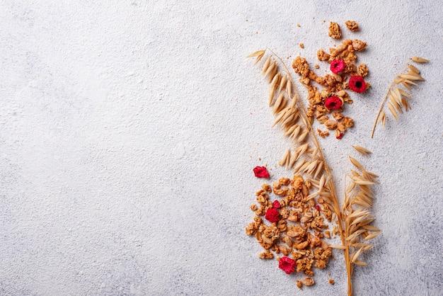Granola maison aux baies séchées