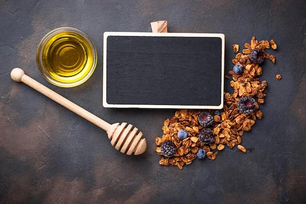 Granola maison saine au miel
