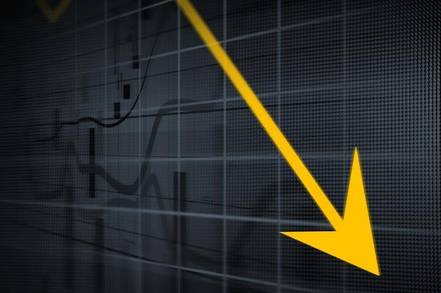 Graphiques financiers et commerciaux