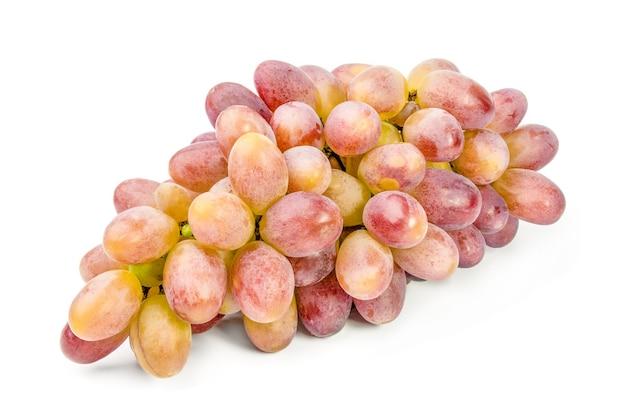 Grappe de raisin isolé sur blanc.