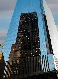 Gratte-ciel et bâtiments de manhattan. architecture de manhattan et de new york