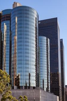 Gratte-ciel dans le quartier financier de los angeles en californie