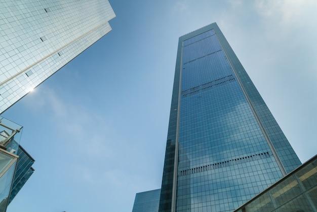 Gratte-ciel dans la zone commerciale, chongqing