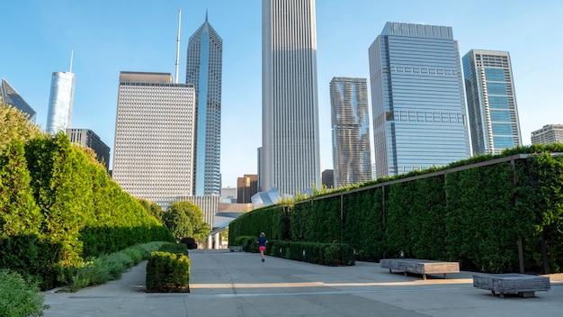 Gratte-ciel du centre-ville de chicago