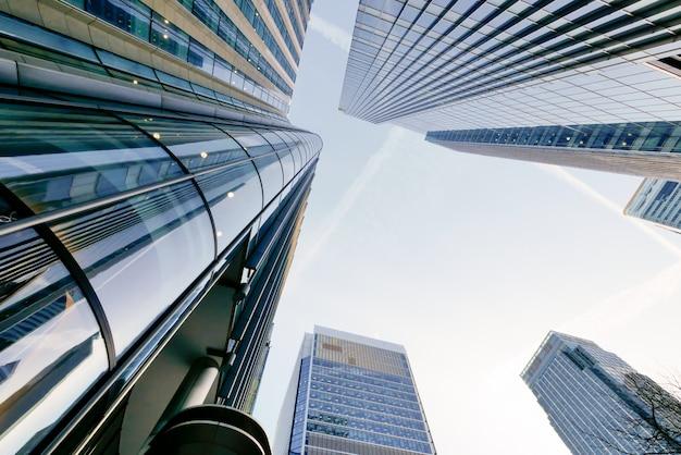 Gratte-ciel de l'immeuble de bureaux de londres
