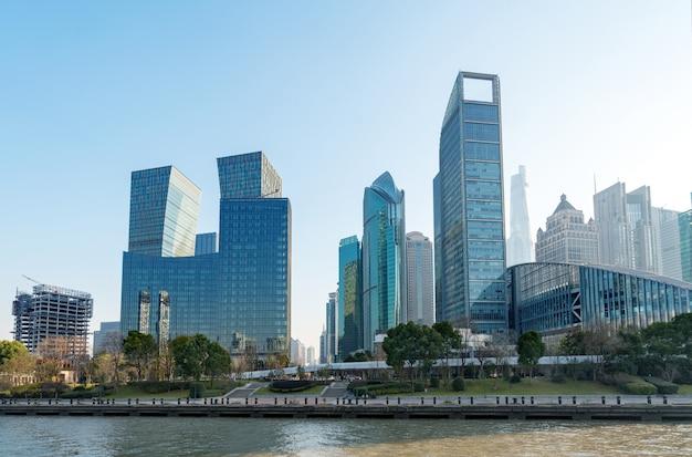 Gratte-ciel à shanghai, chine