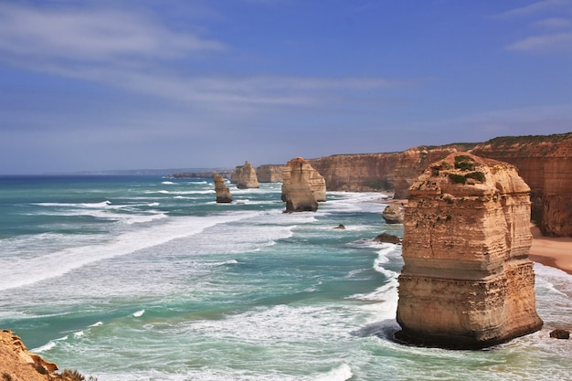 Great ocean road, océan indien, australie