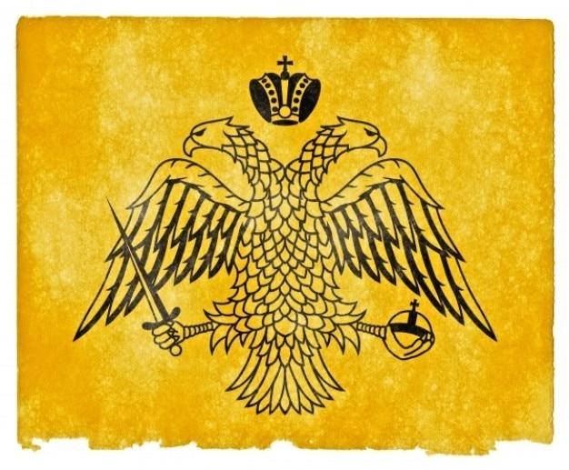 Grec orthodoxe drapeau grunge