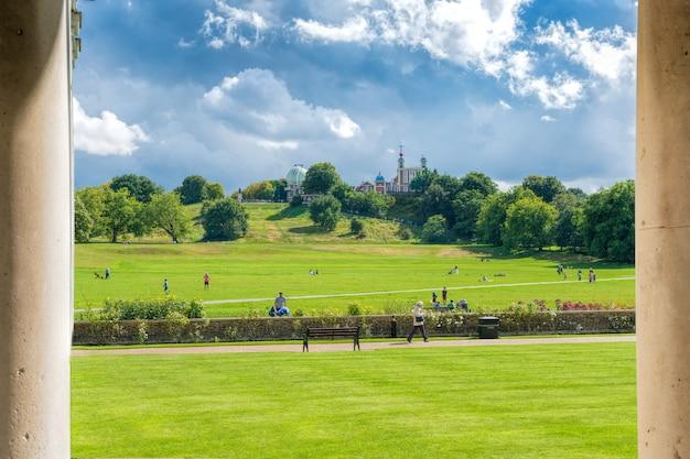 Greenwich, paysage