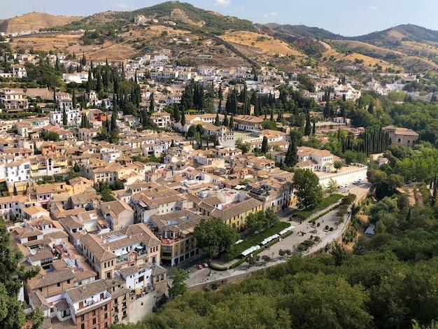 Grenade est une ville de la région d'andalousie dans le sud de l'espagne