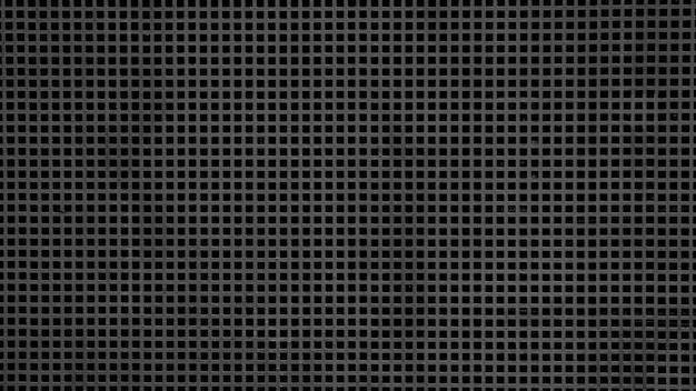 Grille en acier gris au radiateur de voiture