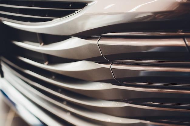 Grille de close-up de voiture de luxe moderne