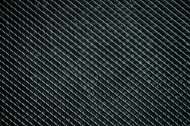 Grille en métal noir, abstrait