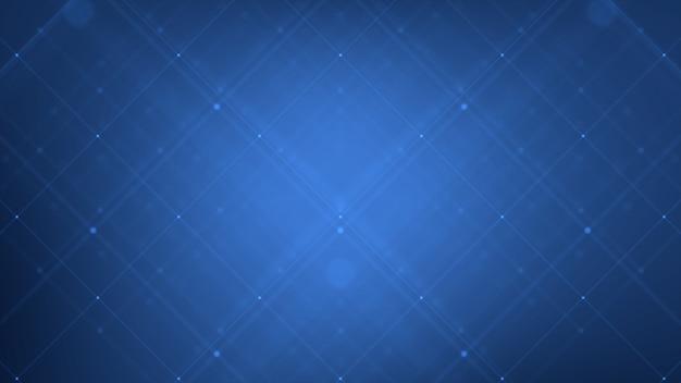 La grille numérique de la technologie abstraite représente les connexions de données et le concept de réseau mondial.