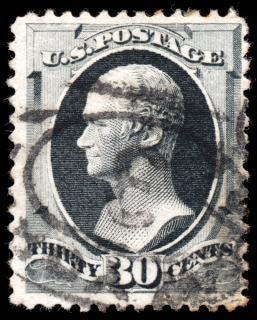 Gris alexander hamilton timbre
