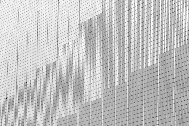 Gris et blanc odern bâtiment mur texture abstraite ville fond.