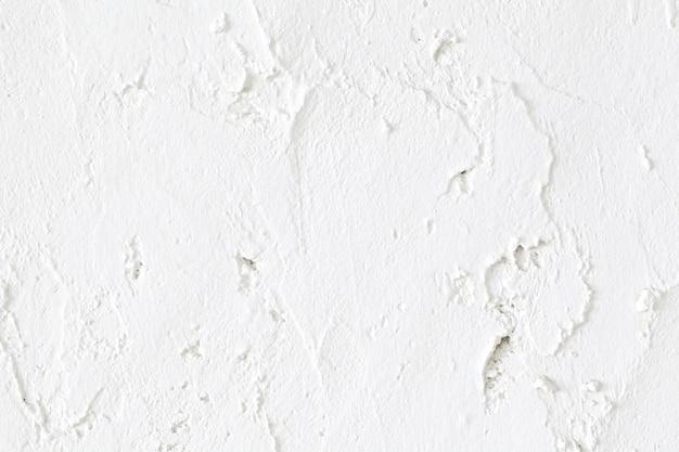 Gros coup de fond de texture de mur en béton blanc