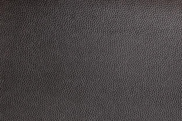 Gros fond de cuir noir et texture