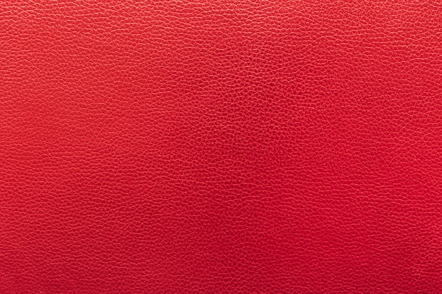Gros fond de cuir et de texture rouge