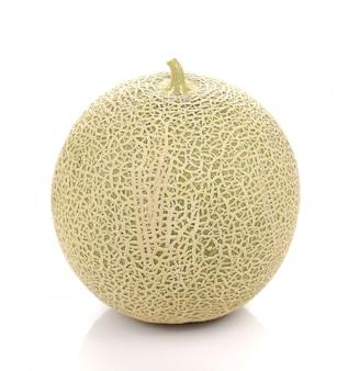 Gros melon sur blanc