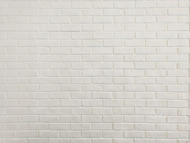 Gros mur de briques blanches