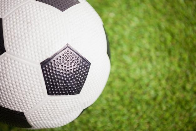 Gros plan, ballon de foot