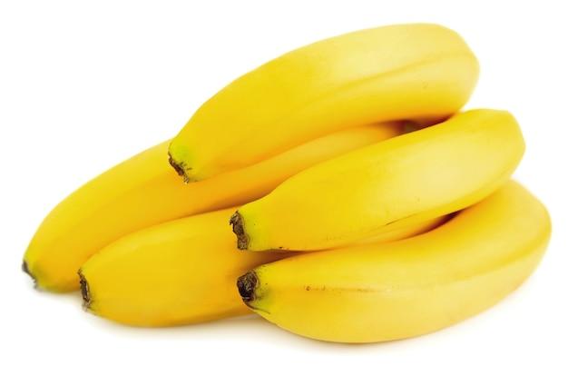 Gros plan de bananes sucrées