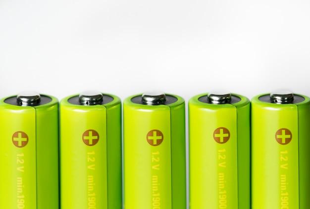 Gros plan de la batterie