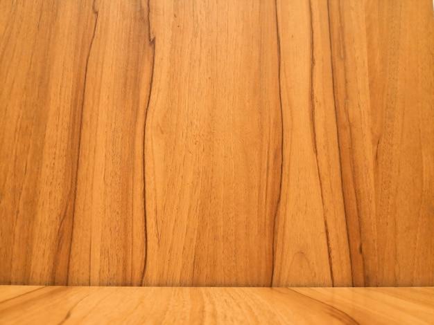 Gros plan de bois brun ton vintage
