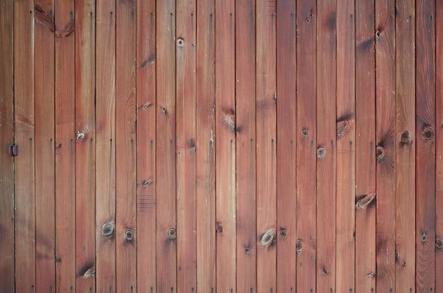 Gros plan, brun, bois, clôture, panneaux, fond