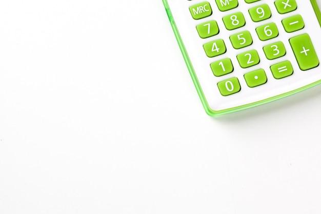 Gros plan de la calculatrice pour le fond
