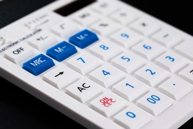Gros plan calculatrice