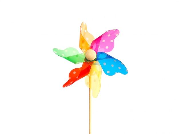 Gros plan coloré pinwheel
