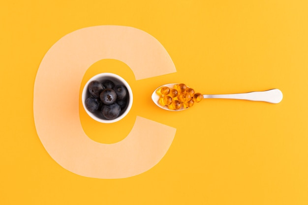Gros plan sur les compléments alimentaires