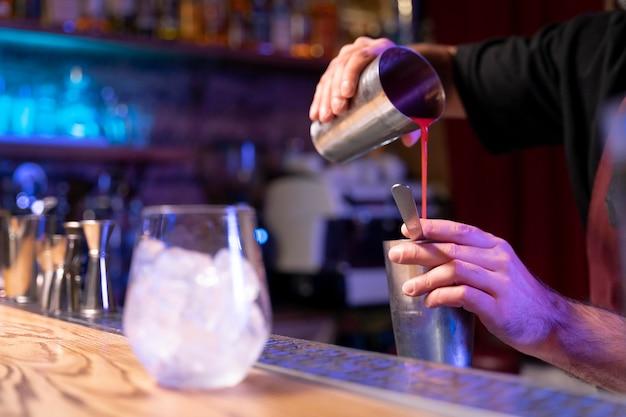 Gros plan sur de délicieuses boissons