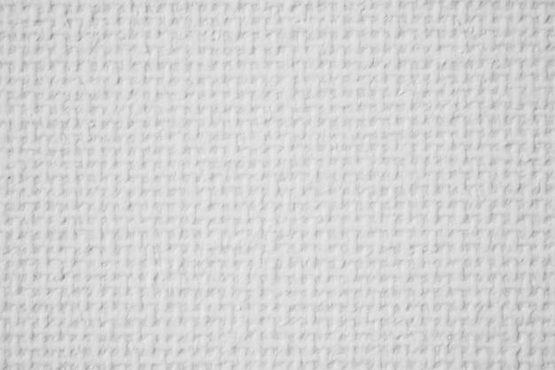 Gros plan sur les détails de texture de toile blanche